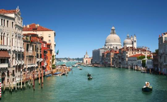 Kamperen in de buurt van Venetië